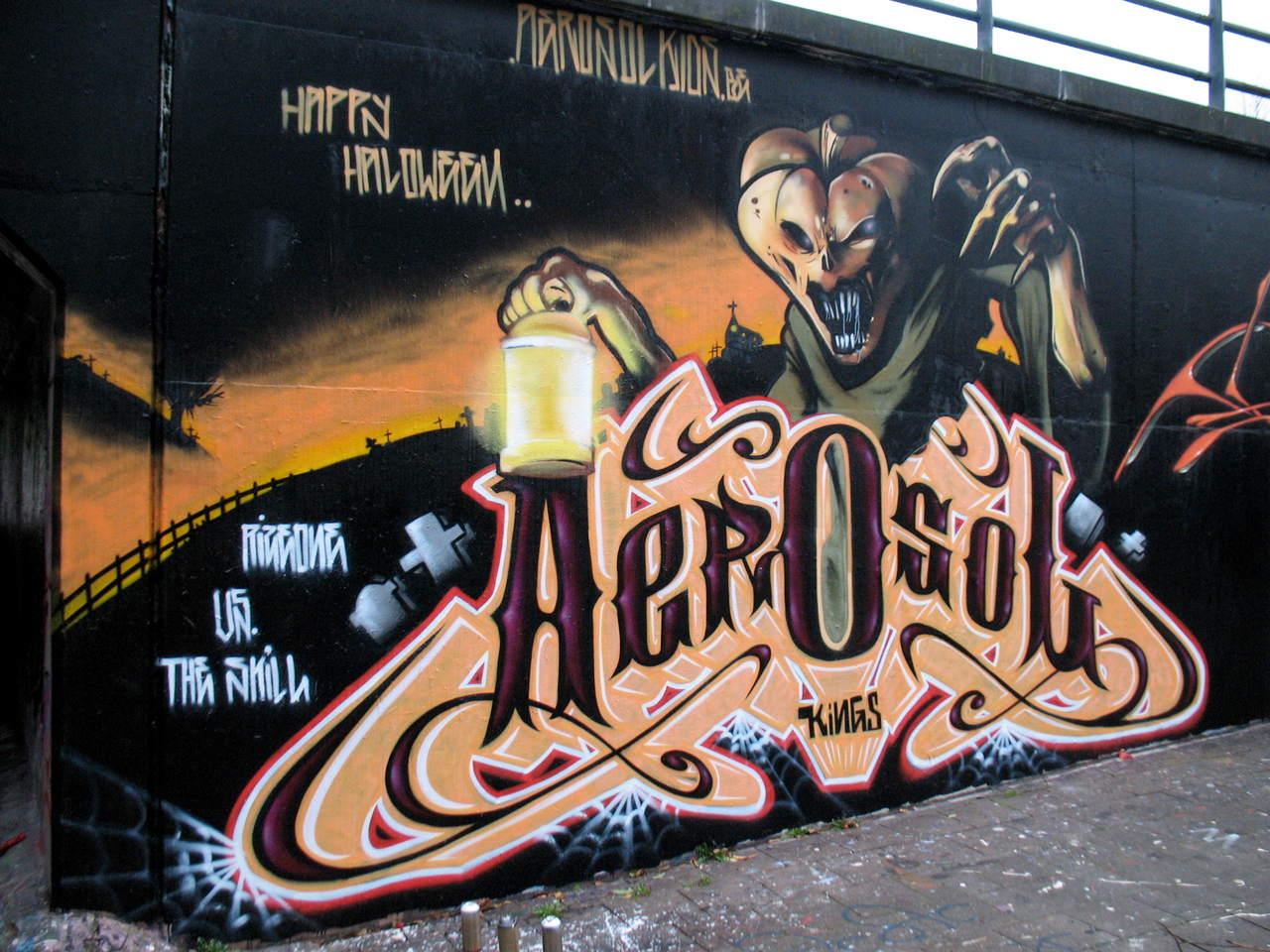 Bemerkenswerte GraffitiKunst
