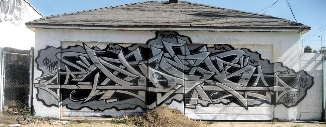 Написать граффити