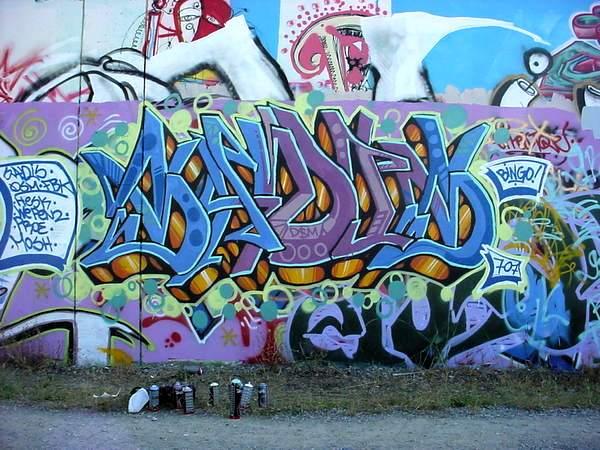 Graffiti rosa - Imagui