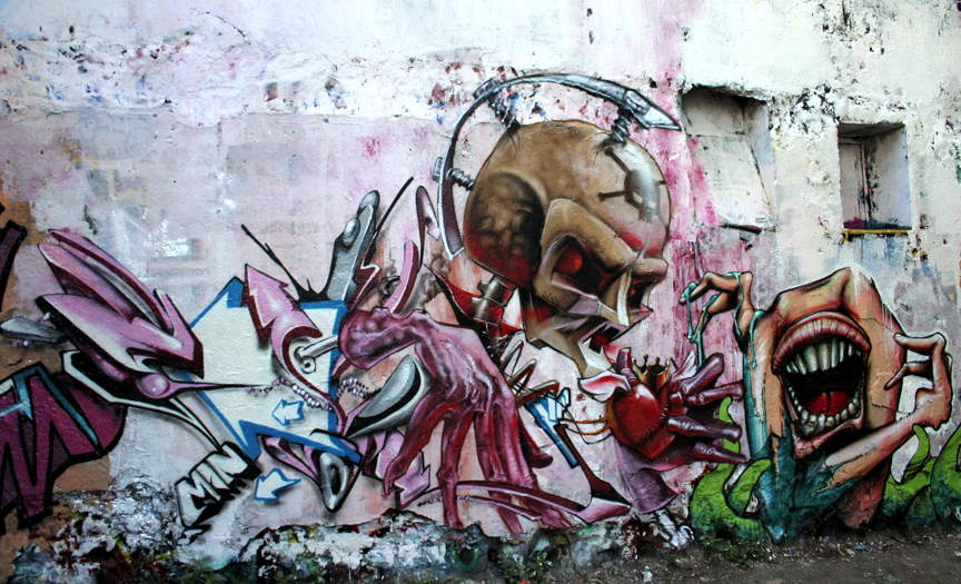Art Crimes: Caveman