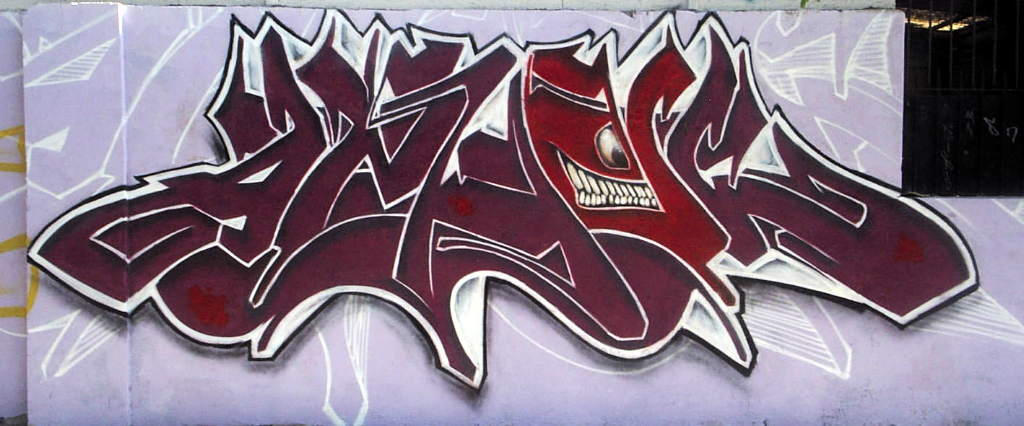 Graffitis que digan angel , Imagui