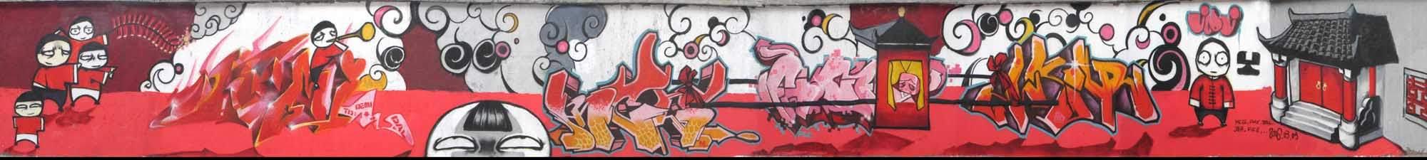 Graffiti: unappreciated art or corrupt vandalism?