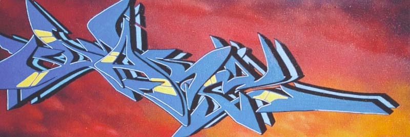 Art >> Art Crimes: Dare p14, canvas