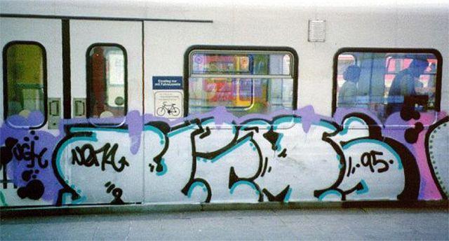 Graffiti On Uk Trains Nema