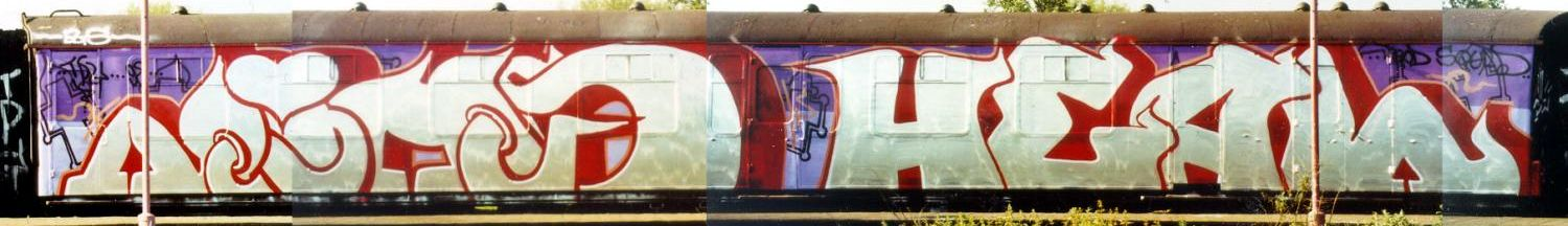 Cars >> Graffiti on UK Trains - Wholecars