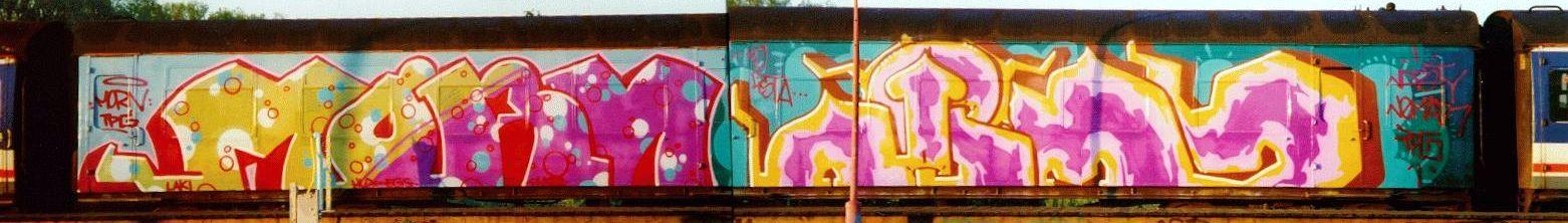 Graffiti On Uk Trains Wholecars