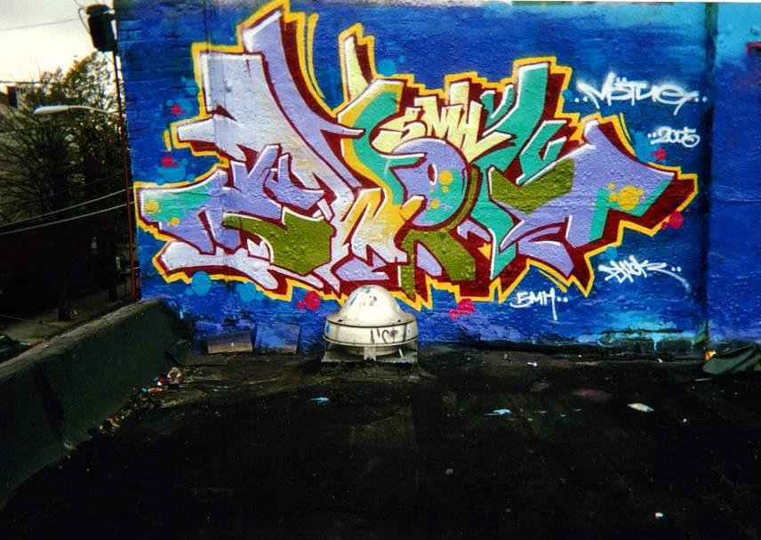 Art Crimes: Ewok.5MH, ...