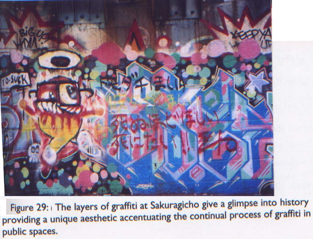 Art Crimes The Bombing Of Babylon Graffiti In Japan - Amazing graffiti alters perspective space
