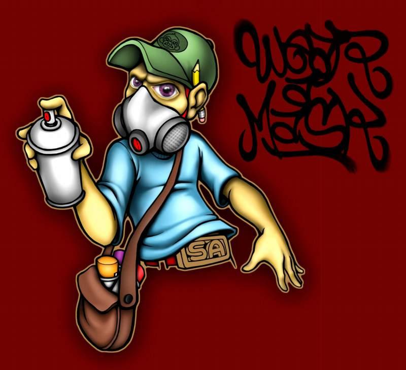 latas de graffiti chidos tattoo design bild