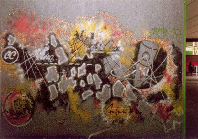 futura 2000 wall graffiti artist 1982 amsterdam clash wikiart meet featured susan 1995 says found around he freddy fab five