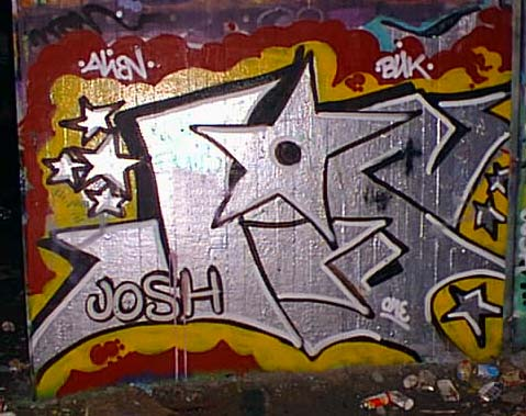 Index on Graffiti Letters