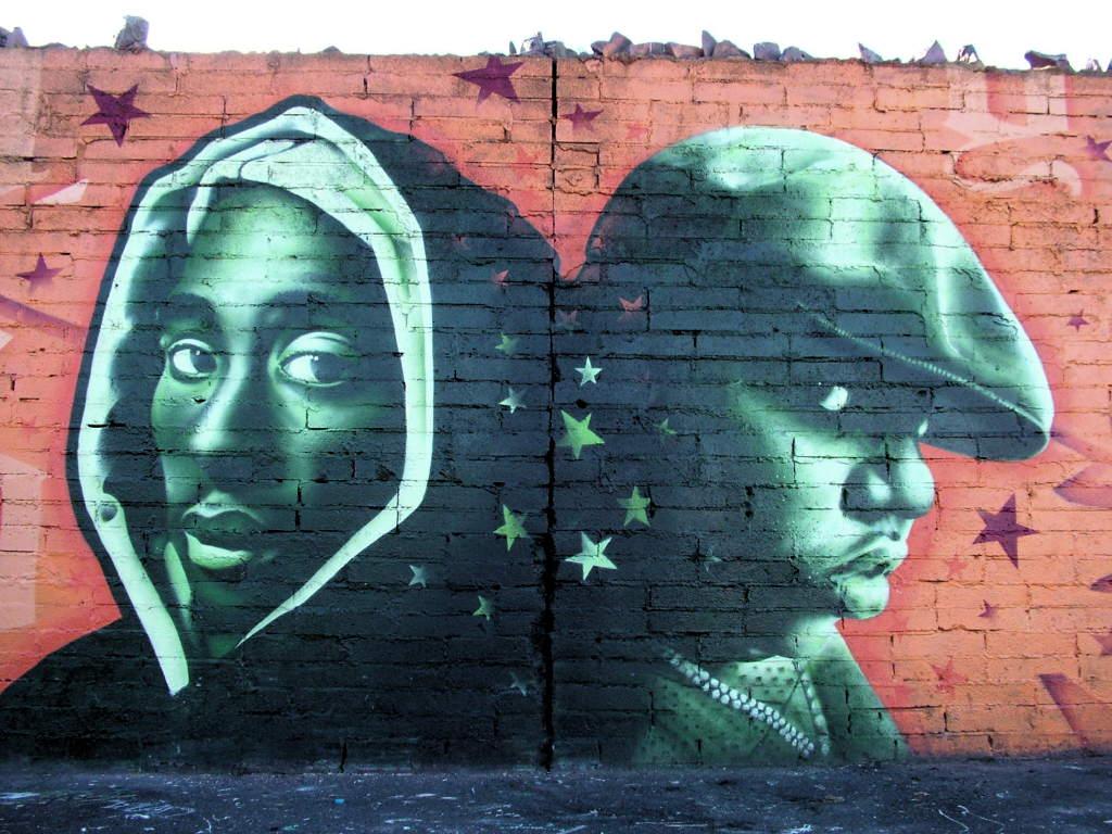 Tupac by artz biggie by dcypher