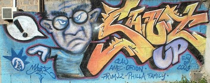 graffiti art an essay concerning the recognition
