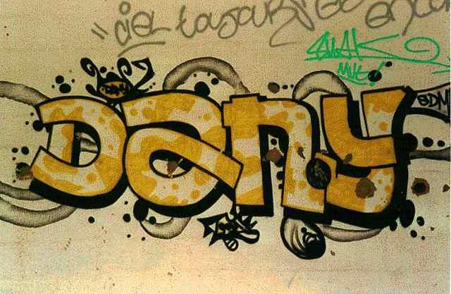 Nombre de dani en graffiti - Imagui