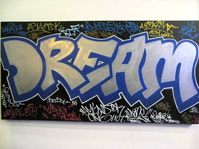 The gallery for --> Graffiti Word Dream