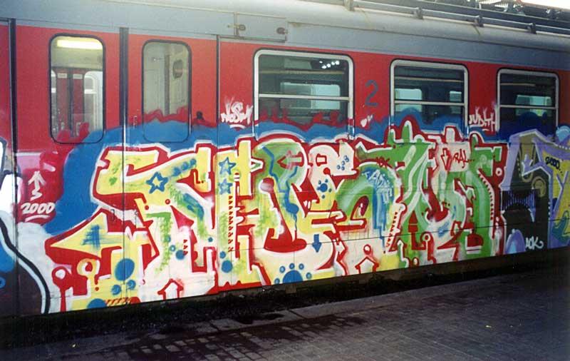 Graffiti Düsseldorf crimes how and nosm