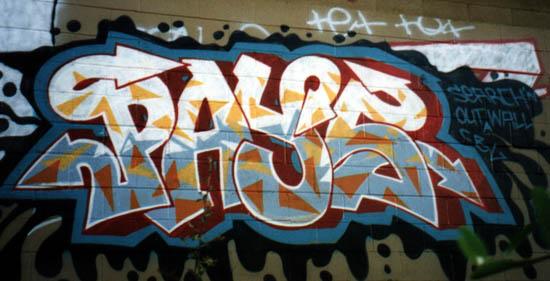 Sacramento Graffiti - Bombing 916 Style!