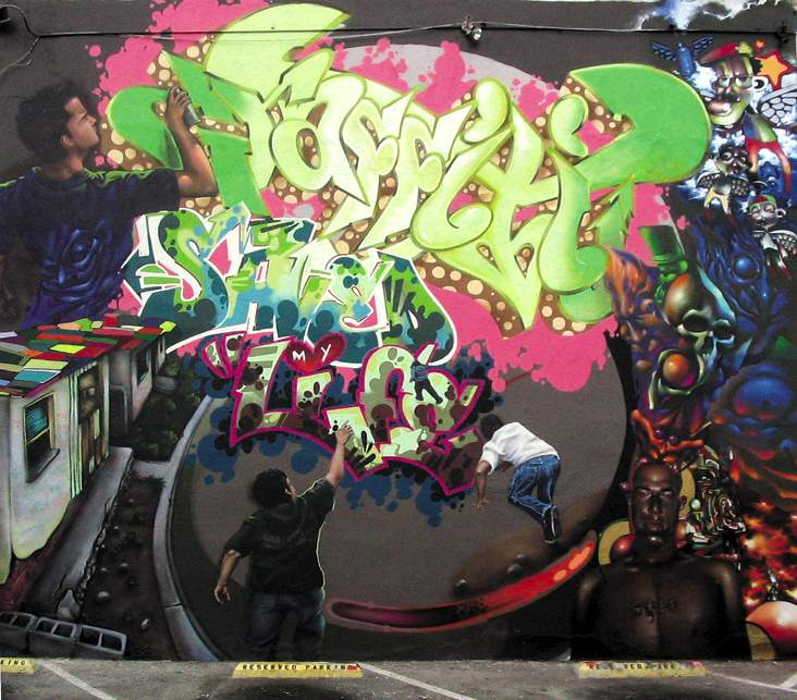 Graffiti saved my life&; by crol-vs-werc , pose2fx, chor, sake, vyal