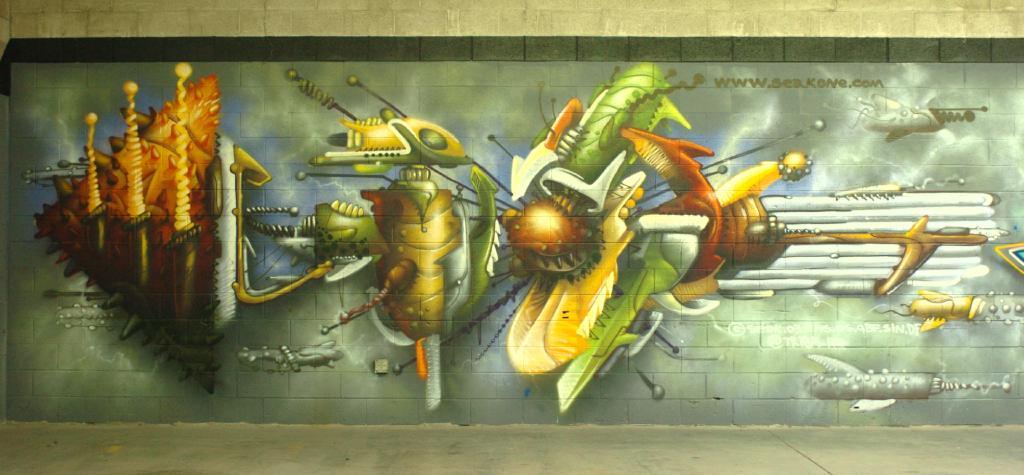 graffiti orgánico