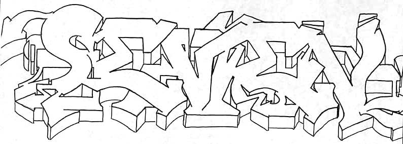 how to draw letter in graffiti. How to Draw Graffiti can not