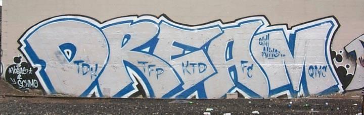 Art Crimes Memorials And Dedications To Dream Amp Pak Tdk