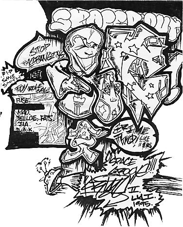 Art Crimes : Sketches - Blackbook - Crime 2