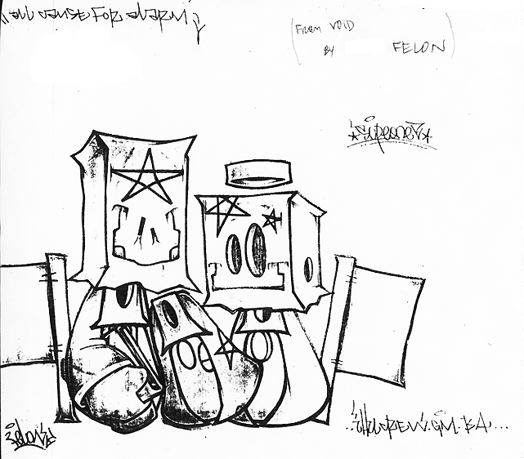 Art crimes sketches blackbook felon
