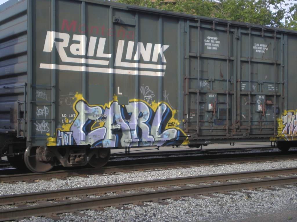 Art Crimes: Trains 262
