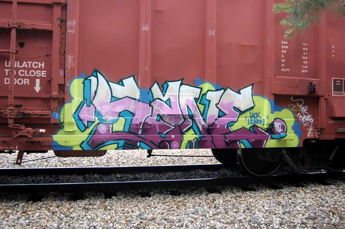 Art Crimes Trains 292 Usa Freights