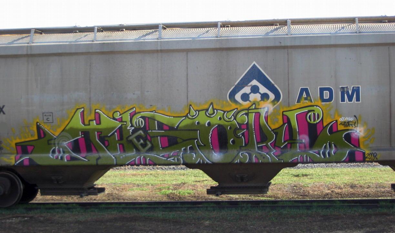 Art Crimes: Trains 323
