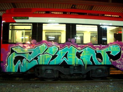 Art crimes trains 307 spain