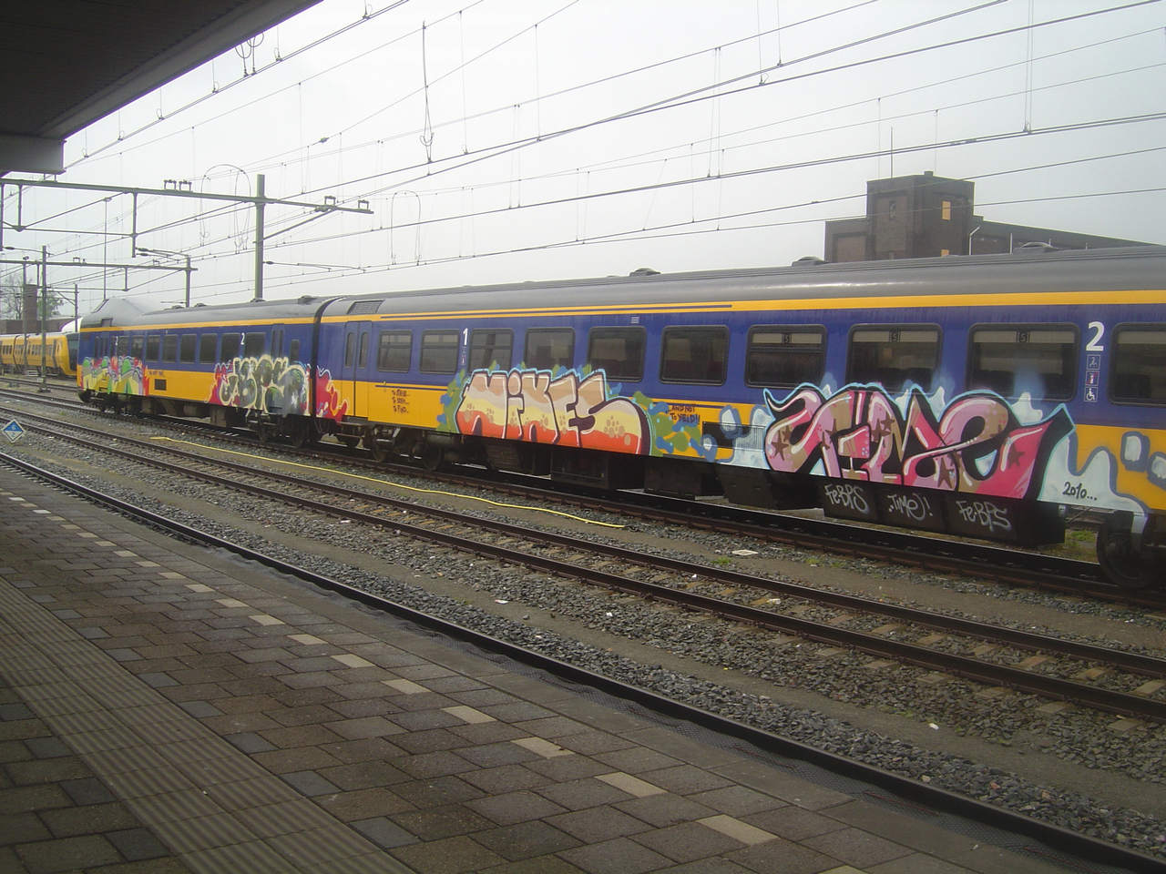 Art Crimes: Trains 326 - European Passenger Trains