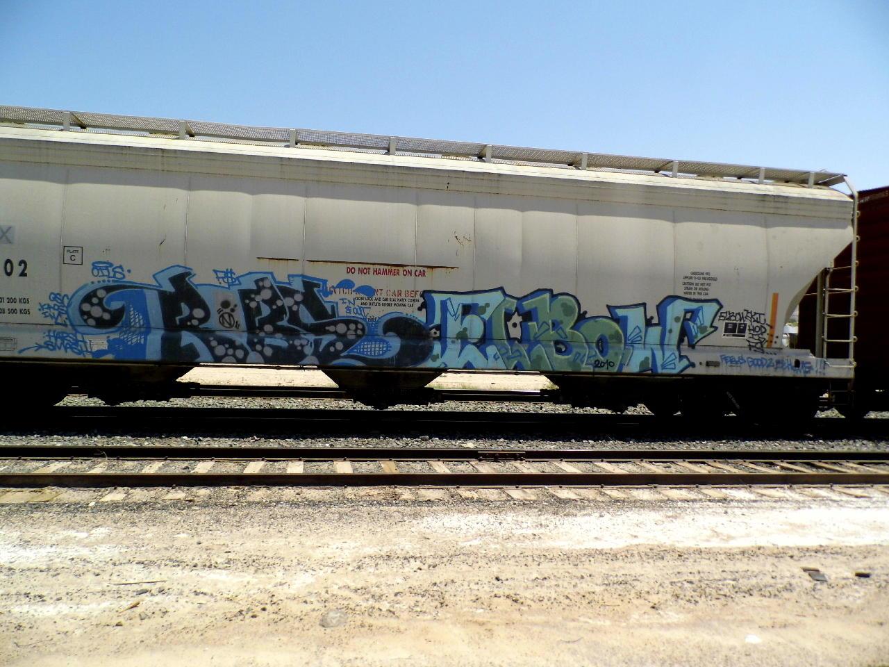 Art Crimes: Trains 349