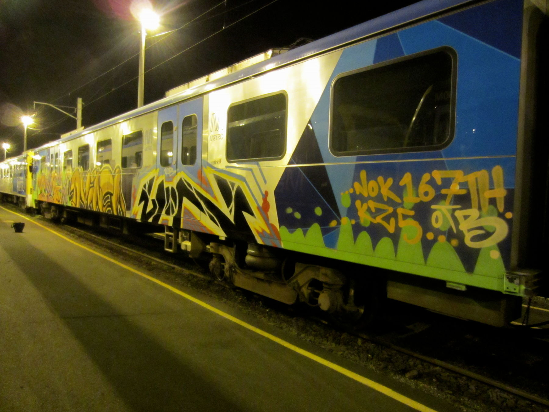 Art Crimes: Trains 359 - Australian Passenger Trains
