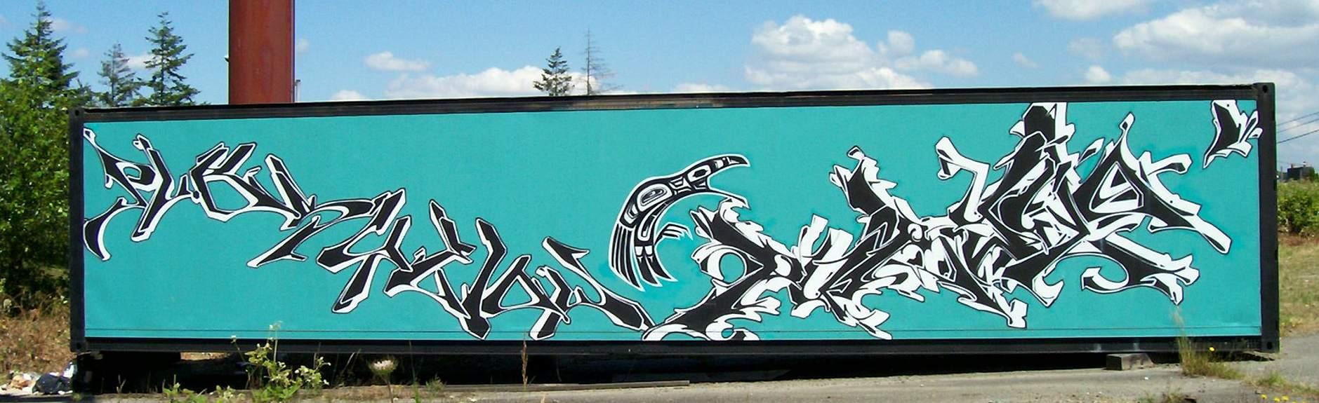 Graffiti wall tacoma - In Tacoma