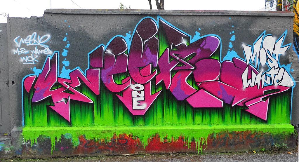GRAFFITIARTIST  Graffitikünstler Christoph Hartmann